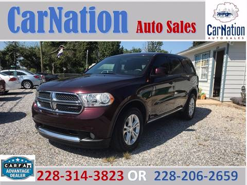 2012 Dodge Durango for sale in Long Beach, MS