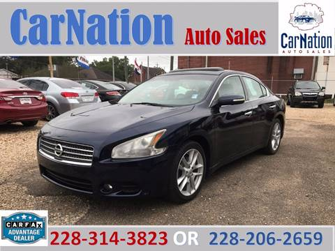 2010 Nissan Maxima for sale in Long Beach, MS