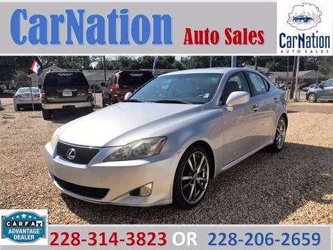 2008 Lexus IS 250 for sale in Long Beach, MS