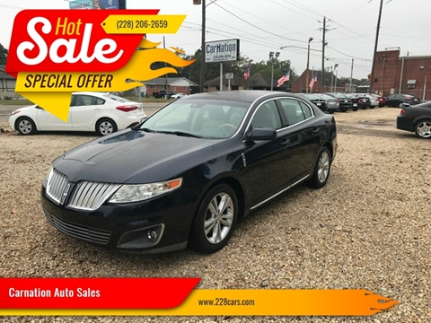 2009 Lincoln MKS for sale in Gulfport, MS