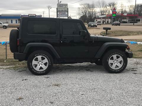 2012 Jeep Wrangler for sale in Corinth, MS