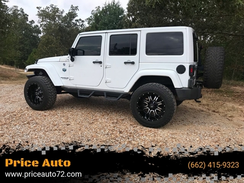 2014 Jeep Wrangler for sale in Corinth, MS