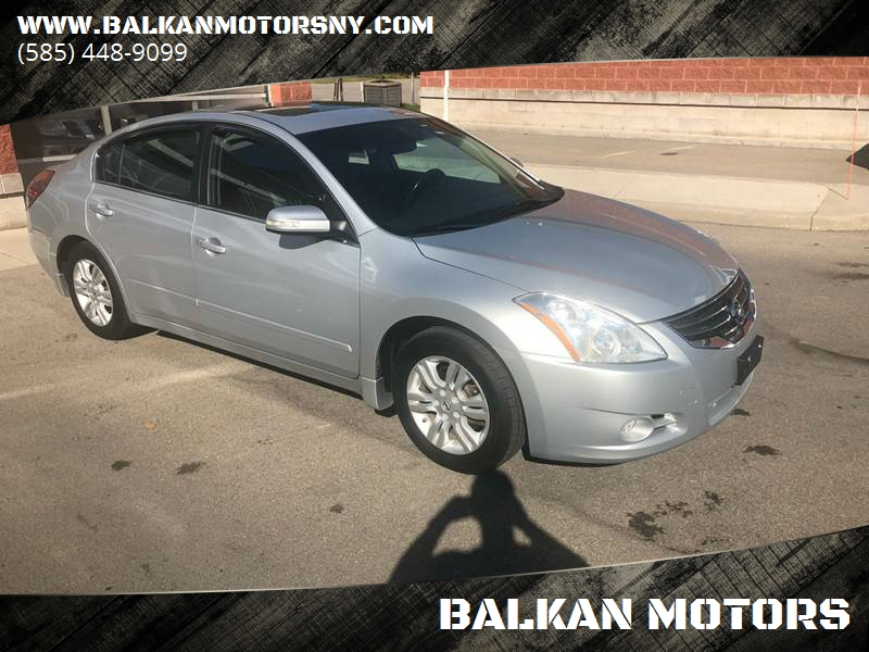2010 Nissan Altima For Sale At BALKAN MOTORS In East Rochester NY