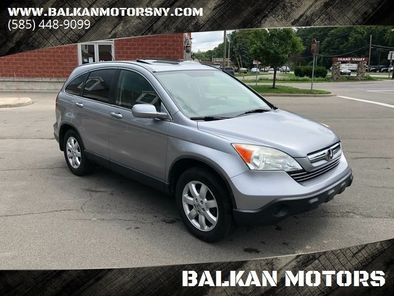 2007 Honda CR V For Sale At BALKAN MOTORS In East Rochester NY