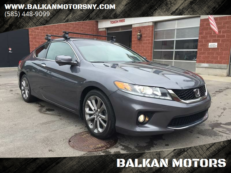 2013 Honda Accord EX L V6. Check Availability. 2013 Honda Accord For Sale  At BALKAN MOTORS In East Rochester NY