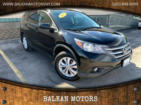 2013 Honda CR-V for sale at BALKAN MOTORS in East Rochester NY