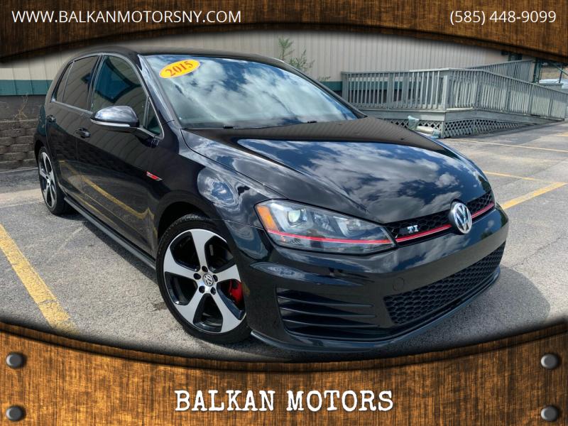 2015 Volkswagen Golf GTI for sale at BALKAN MOTORS in East Rochester NY