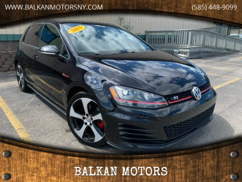 2015 Volkswagen Golf GTI for sale at BALKAN MOTORS in East Rochester NY