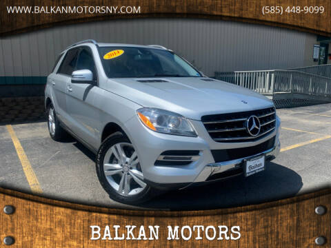 2014 Mercedes-Benz M-Class for sale at BALKAN MOTORS in East Rochester NY