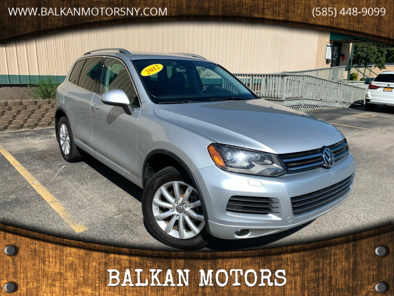 2012 Volkswagen Touareg for sale at BALKAN MOTORS in East Rochester NY