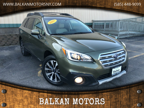 2015 Subaru Outback for sale at BALKAN MOTORS in East Rochester NY