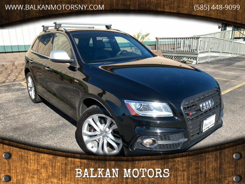 2015 Audi SQ5 for sale at BALKAN MOTORS in East Rochester NY