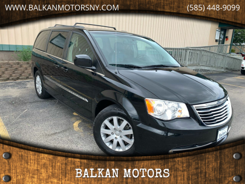 2014 Chrysler Town and Country for sale at BALKAN MOTORS in East Rochester NY