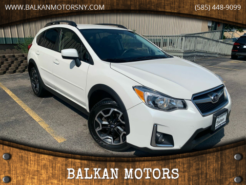 2016 Subaru Crosstrek for sale at BALKAN MOTORS in East Rochester NY