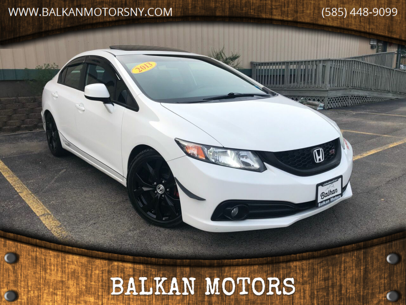 2013 Honda Civic for sale at BALKAN MOTORS in East Rochester NY