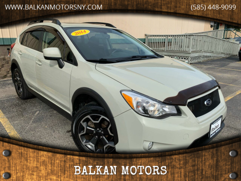 2014 Subaru XV Crosstrek for sale at BALKAN MOTORS in East Rochester NY