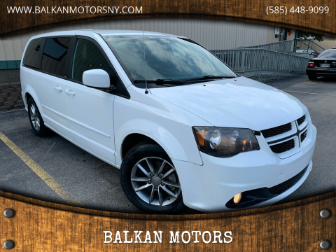 2014 Dodge Grand Caravan for sale at BALKAN MOTORS in East Rochester NY