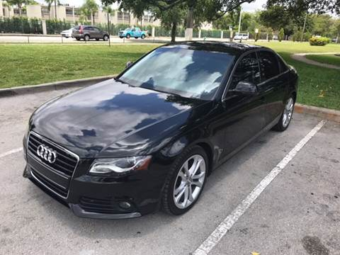 2009 Audi A4 for sale at Defed Motors in Hollywood FL
