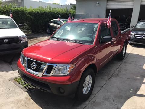 2016 Nissan Frontier for sale in Hollywood, FL
