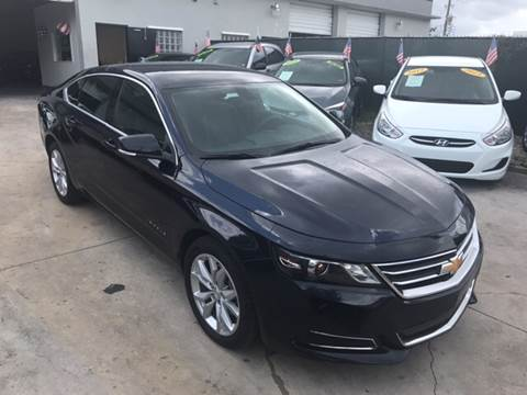 2017 Chevrolet Impala for sale at Defed Motors in Hollywood FL
