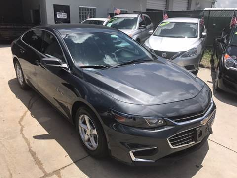 2017 Chevrolet Malibu for sale at Defed Motors in Hollywood FL