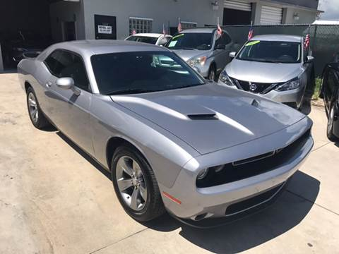 2016 Dodge Challenger for sale at Defed Motors in Hollywood FL