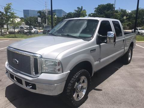 2006 Ford F-250 Super Duty for sale at Defed Motors in Hollywood FL