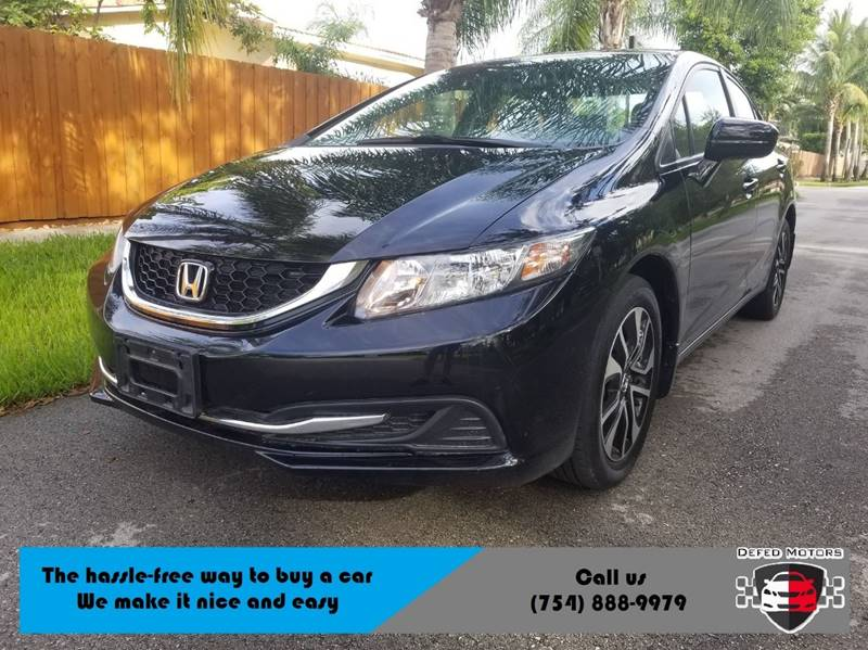 2014 Honda Civic For Sale At Defed Motors In Hollywood FL