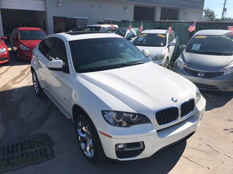 2013 BMW X6 for sale at Defed Motors in Hollywood FL