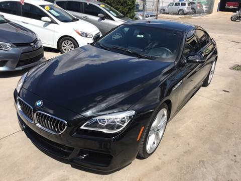 2016 BMW 6 Series for sale at Defed Motors in Hollywood FL