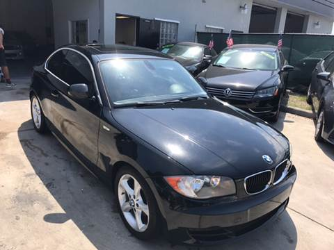 2011 BMW 1 Series for sale at Defed Motors in Hollywood FL