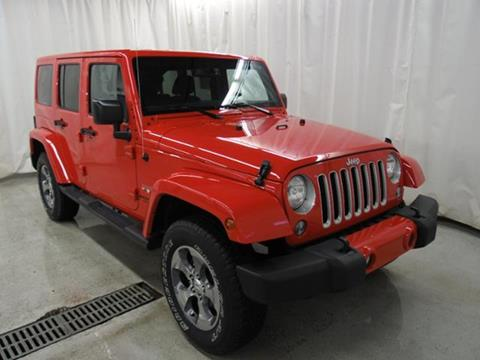 2016 Jeep Wrangler Unlimited for sale in Frederic, WI