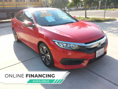 2016 Honda Civic for sale at Super Cars Sales Inc #1 in Oakdale CA