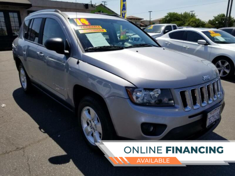 2014 Jeep Compass for sale at Super Cars Sales Inc #1 - Super Auto Sales Inc #2 in Modesto CA