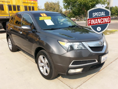 2012 Acura MDX for sale at Super Cars Sales Inc #1 in Oakdale CA