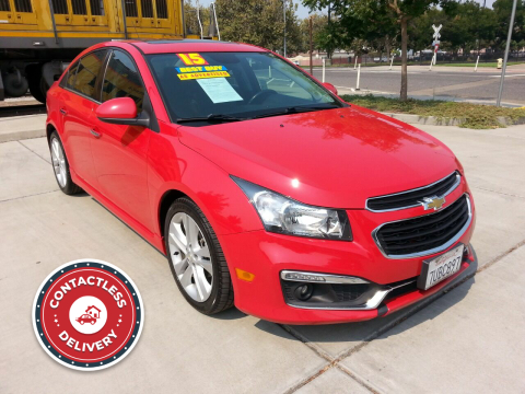 2015 Chevrolet Cruze for sale at Super Cars Sales Inc #1 in Oakdale CA