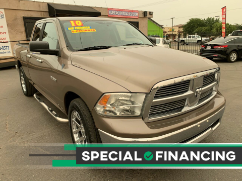 2010 Dodge Ram Pickup 1500 for sale at Super Cars Sales Inc #1 in Oakdale CA