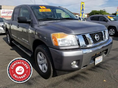 2014 Nissan Titan for sale at Super Cars Sales Inc #1 - Super Auto Sales Inc #2 in Modesto CA