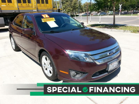 2012 Ford Fusion for sale at Super Cars Sales Inc #1 in Oakdale CA