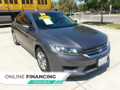 2014 Honda Accord for sale at Super Cars Sales Inc #1 in Oakdale CA