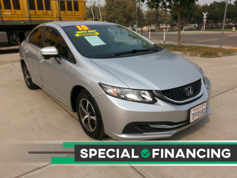 2015 Honda Civic for sale at Super Cars Sales Inc #1 in Oakdale CA