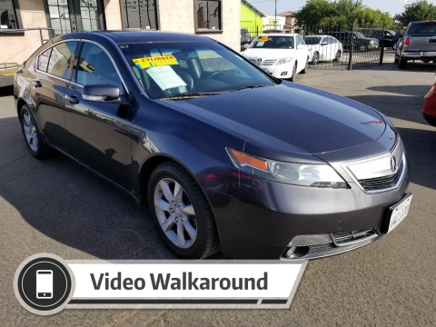 2012 Acura TL for sale at Super Cars Sales Inc #1 - Super Auto Sales Inc #2 in Modesto CA