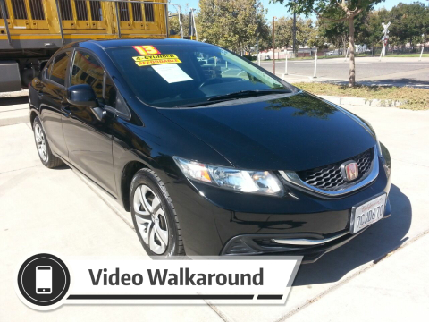 2013 Honda Civic for sale at Super Cars Sales Inc #1 in Oakdale CA