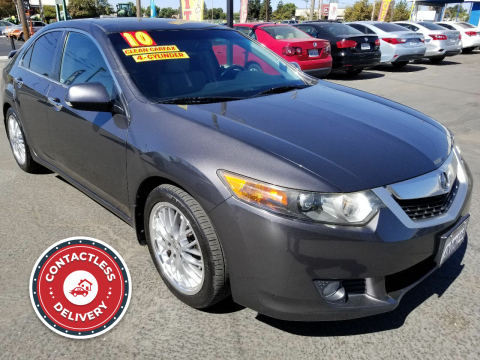 2010 Acura TSX for sale at Super Cars Sales Inc #1 - Super Auto Sales Inc #2 in Modesto CA