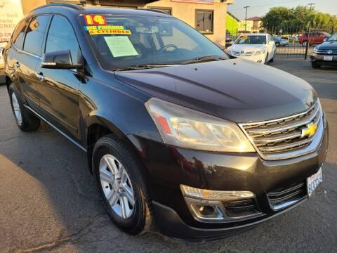 2014 Chevrolet Traverse for sale at Super Cars Sales Inc #1 - Super Auto Sales Inc #2 in Modesto CA