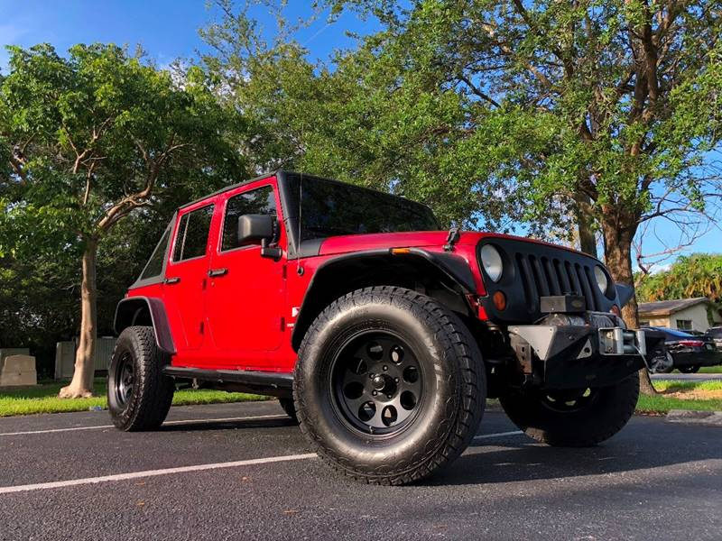 2008 Jeep Wrangler Unlimited For Sale At Auto Direct Of South Broward In  Miramar FL