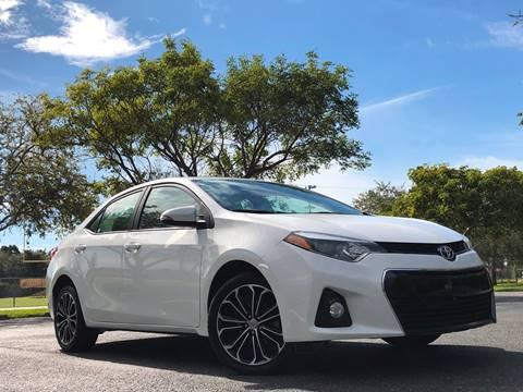 2016 Toyota Corolla for sale in Miramar, FL