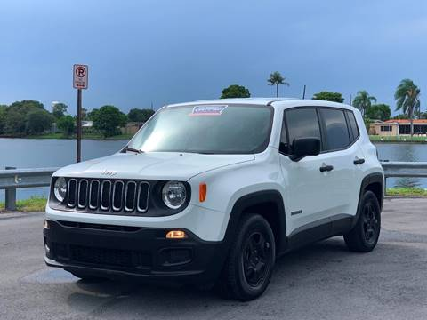 2015 Jeep Renegade for sale in Miramar, FL