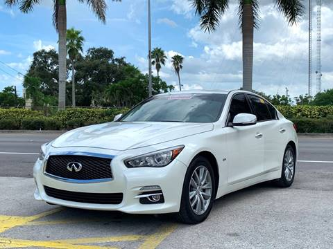 Q50 For Sale >> 2016 Infiniti Q50 For Sale In Miramar Fl