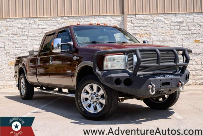 Ford F  Super Duty King Ranch Crew Cab Long Bed Wd Dallas
